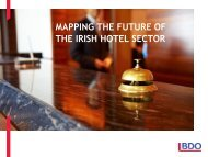 MAPPING THE FUTURE OF THE IRISH HOTEL SECTOR ... - BDO