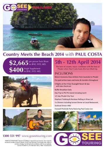 paul costa - Go See Touring