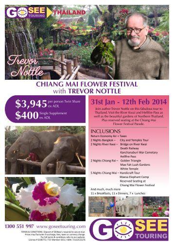 chiang mai flower festival - Go See Touring