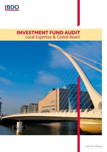 Investment fund audIt - BDO