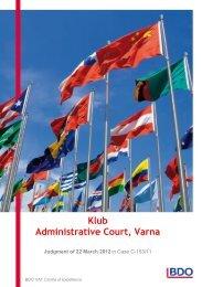 C-153-11.Klub Administrative Court Varna.pdf - BDO