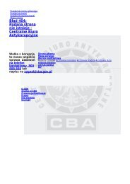 Kurs z ustawy FCPA - Chicago 19-20.06.2013