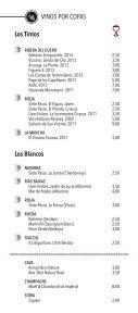 Carta Vinos y Copas - Page 2