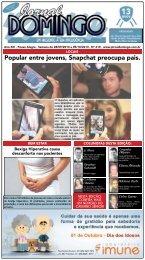 Popular entre jovens, Snapchat preocupa pais. - Jornal Domingo