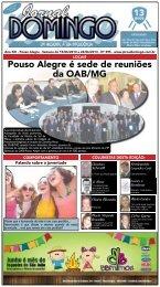 1 Pouso Alegre é sede de reuniões da OAB/MG - Jornal Domingo
