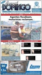 1 Agentes fiscalizam, motoristas reclamam. - Jornal Domingo