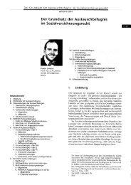 Der Grundsatz der Austauschbefugnis im ... - Hardy-Landolt.ch