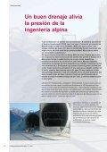 Un buen drenaje alivia la presión de la ingeníeria alpina - Page 4
