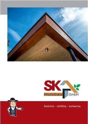 SK-Holzbau – Firmenbroschüre