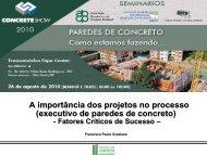A importância dos projetos no processo - ABESC