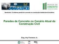 Paredes de Concreto no Cenário Atual da Construção Civil - ABESC