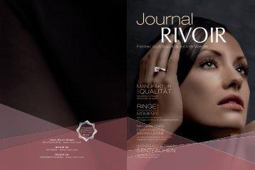RIVOIR Journal 2009 - Solitaire Lechler