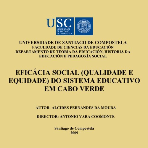 Eficã Cia Social Universidade Jean Piaget De Cabo Verde