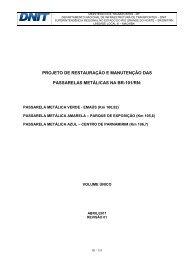 Anexo II - Projeto de Restauração e Manutenção das ... - Dnit