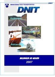 Exercício 2007 - Dnit
