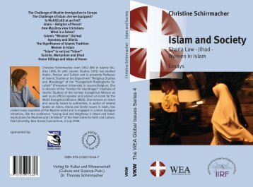 Islam and Society - The Voice of the Martyrs