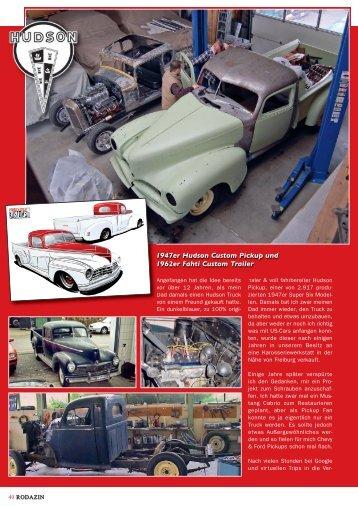 1947er Hudson Custom Pickup und 1962er Fahti ... - Wild Wheelers