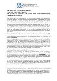ssr-beurteilung der studie von prof. dr. philippe wanner
