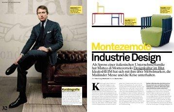 Als Spross einer italienischen Unternehmerfamilie hat Matteo di ...