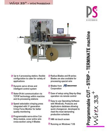 Wire Processing - PS Electronic