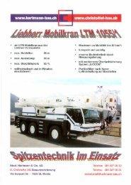 Mobilkran LTM 1055/1 - Nicol. Hartmann & Cie. AG