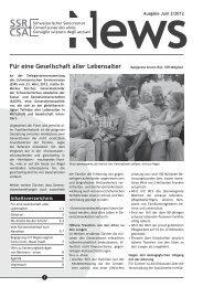 CSA SSR - Schweizerischer Seniorenrat