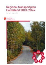 Regional transportplan Hordaland 2013–2024 - Politiske saker