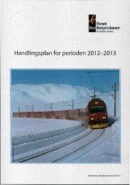 Handlingsplan for perioden 2012-2013