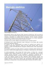 Mercato Elettrico (Vers. Aggiornata) - Martinbuber.eu