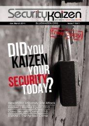 Open Issue 1 in PDF format - Bluekaizen