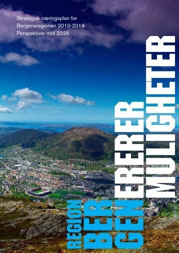 Strategisk næringsplan - Business Region Bergen