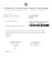 Newsletter prevenzione incendi n° 4 - Federazione degli Ordini ...