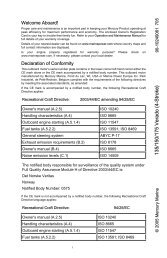 Directive 94/25/EC as amended by 2003 - Brunswick Marine in