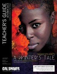 TEACHER'S GUIDE - California Shakespeare Theater