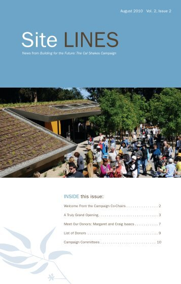 Download the PDF - California Shakespeare Theater