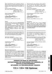 115 135 150 Optimax - Brunswick Marine in EMEA Download Center