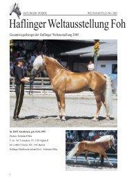 Zeitung 7/2005 - 18/2 f r NET - Haflinger Tirol