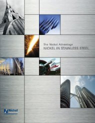 The Nickel Advantage - Nickel in Stainless Steel - Eurometaux