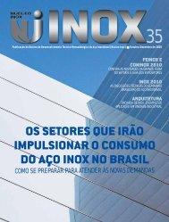 os setores que irão impulsionar o consumo do aço inox no brasil