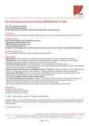 Feuchtwasserzusatz Alco-Damp GRÜN M 60 Zi (E 834)