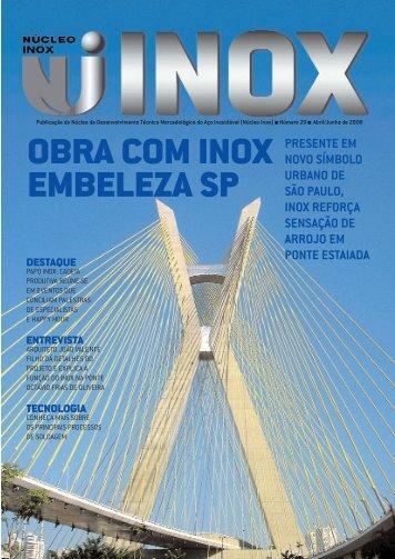 OBRA COM INOX EMBELEZA SP