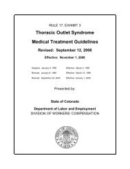 Thoracic Outlet Syndrome Medical Treatment Guidelines - Health ...