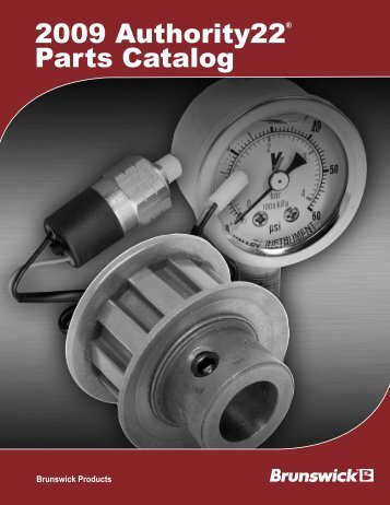 2009 Authority22® Parts Catalog - Brunswick
