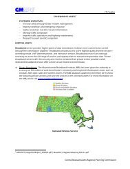 statewide assets - Central Massachusetts Regional Planning ...