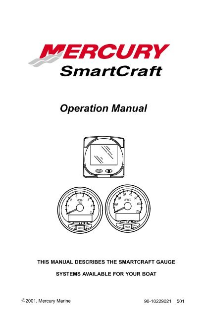 Operation Manual - Brunswick Marine in EMEA Download Center