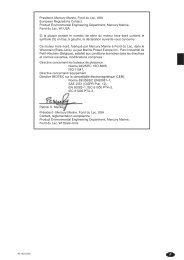 –1 F President, Mercury Marine, Fond du Lac, USA European ...