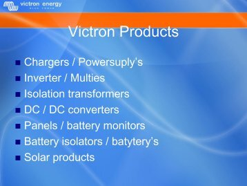Victron Products