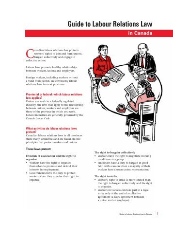 Guide to Labour Relations Law In Canada.pdf - ClassNet
