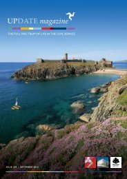 UPDATE magazine - Isle of Man Government