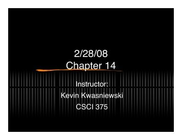 2/28/08 Chapter 14